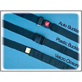 "2 Pieces Plastic Buckle Seat Belt - 72"""