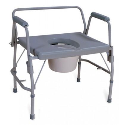 Chaise d aisance bariatrique avec appui bras r tractables for Chaise avec bras
