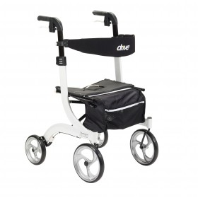Nitro Rollator and Walker - White