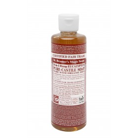 Castile Hands Liquid Soap Organic Eucalyptus 237ml