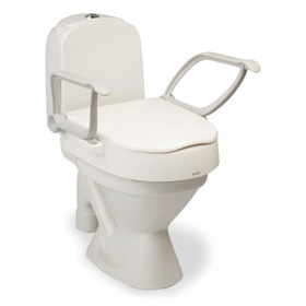 Raised Toilet Seat With Adjustable Height For Seniors