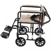 Easy Folding Transport Wheelchair