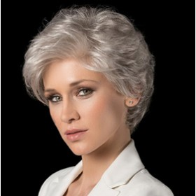 White & Grey Hair Wig