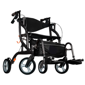 Walker Wheelchair 2 In 1 Combo