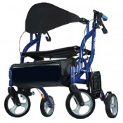 Rollator Transport Wheelchair Duo