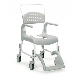 Shower & Commode Chair 2 In 1