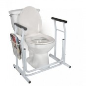 Standalone Toilet Rails