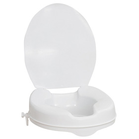 Toilet Seat Riser With Lid