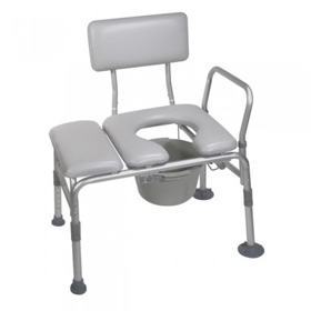 Duo Transfer Bench & Commode Chair