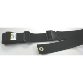 "2 Pieces Plastic Buckle Seat Belt 72"" + Triglide"