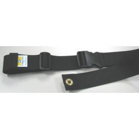 "2 Pieces Plastic Buckle Seat Belt 72"" + Triglide"