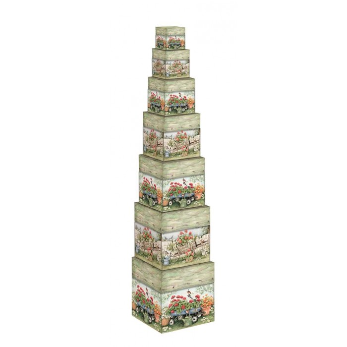 Bo tes de rangement d coratives ensemble de 7 pi ces for Boites de rangement decoratives
