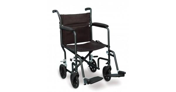 fauteuil roulant chaise de transport ultra l ger. Black Bedroom Furniture Sets. Home Design Ideas