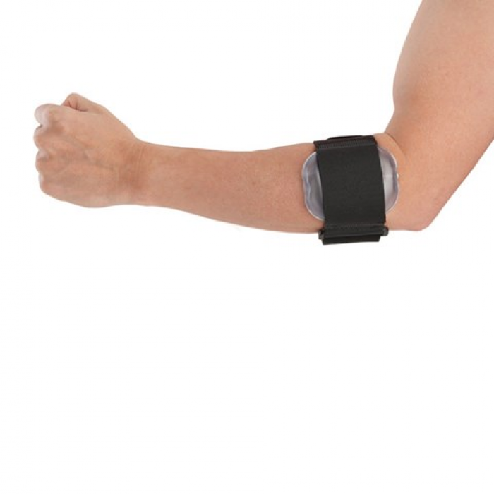Airform tennis elbow brace with pneumatic cushions