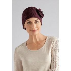 Cancer Headwear All Fashionista With Cotton Grape