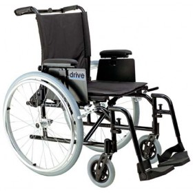 Ultra Lightweight Rehab Wheelchair Cougar with Detachable T Style Desk Arms