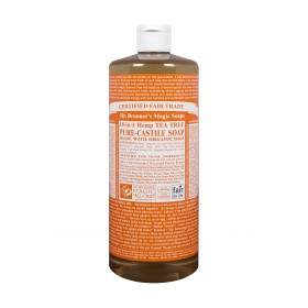 Castile Hands Liquid Soap Organic Tea Tree 946ml