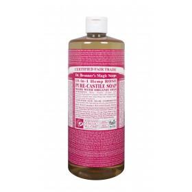 Liquid Castile Soap Organic Rose 946ml