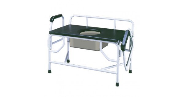 Bariatric Commode Chair Bedside For Obese People 1000 Lbs