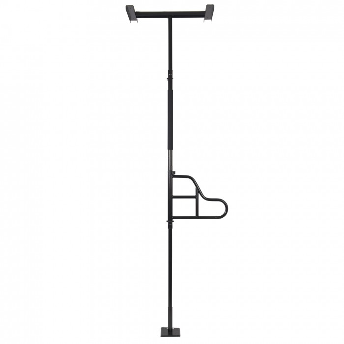 barre d appui verticale e z pour lit avec poign e pivotante barre de transfert au plafond. Black Bedroom Furniture Sets. Home Design Ideas