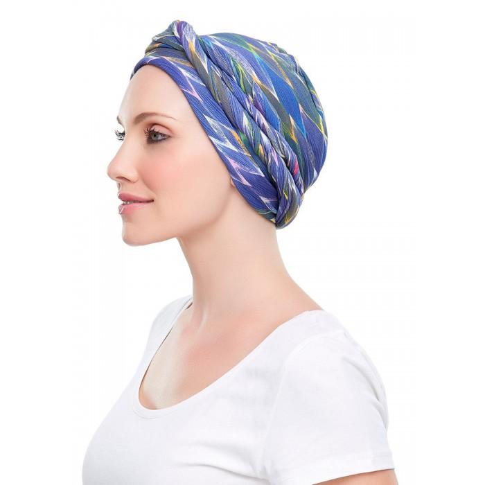 Foulard chapeau chimio et perte de cheveux - Foulard pour cheveux tendance ...