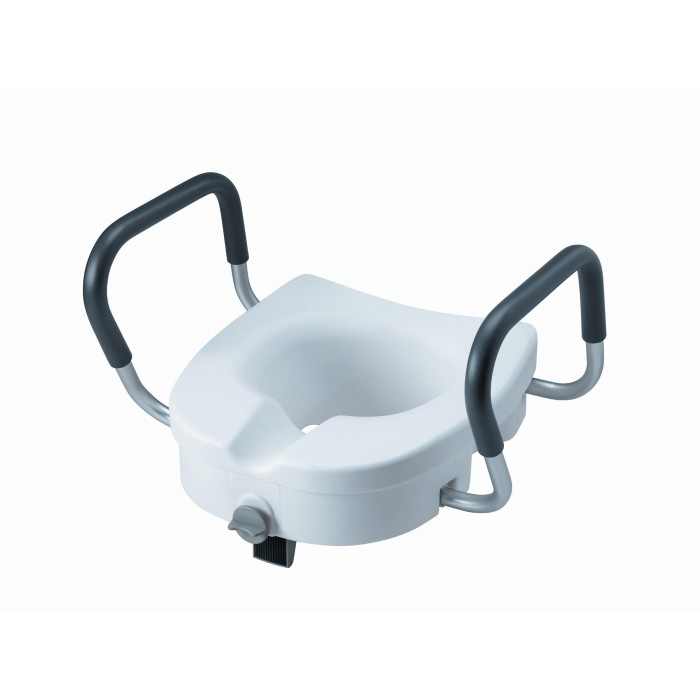Amazing Invacare Clamp On Raised Toilet Seat With Arms Pabps2019 Chair Design Images Pabps2019Com