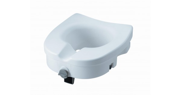 Clamp On Raised Toilet Seat Without Arms
