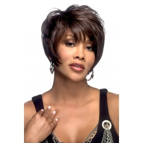 Moore-V Wigs for African Women Short Straight by Vivica Fox