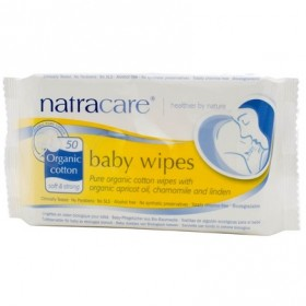Baby Wipes Organic Cotton