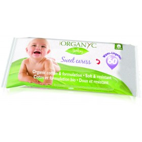 Baby Beauty Wipes with Organic Cotton