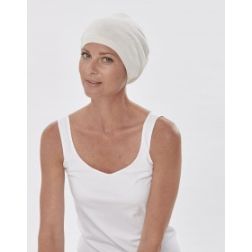 Palma Slouchy Cotton Cap Hat for Cancer Chemotherapy