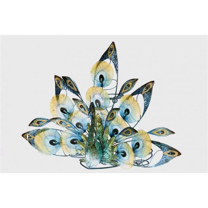 Peacock metal natural capiz shell tea light holder - Capiz shell tealight holder ...