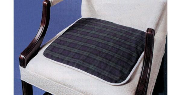 Tampon de chaise tartan - Tampon de chaise ...
