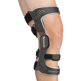 Rebound Dual Knee Brace for Ligaments Injury by Ossur