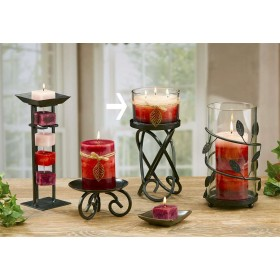 Relaxation 3 Wick Glass Candles