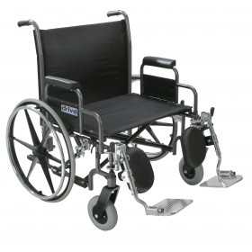 "Heavy Duty Wheelchair Sentra Extra- Extra Wide - 26"" to 30"" - 700 lbs. Capacity"