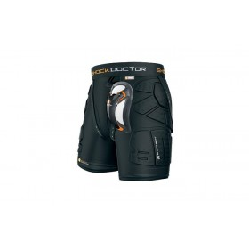 Shock Doctor ShockSkin 5-Pad Shorts Ultra Carbon Protective Cup