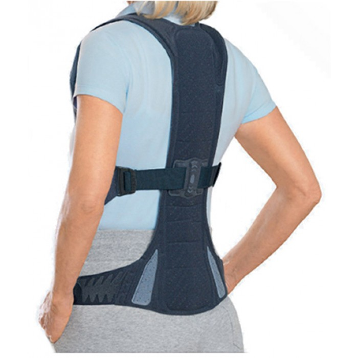 how to properly put on a back brace