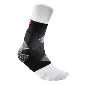 Sports Elastic Thin Ankle Sleeve 4-Way Figure-8 Straps McDavid