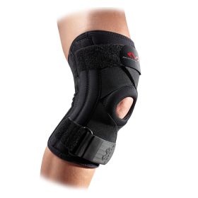 Sports Knee Support Brace Stays and Cross Straps Mc