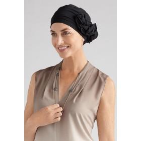 A Stylish Lady Bamboo Cancer Headwear Black 672e9711b00