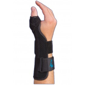 "Suede Thumb Splint 9"" Universal Size MedSpec"