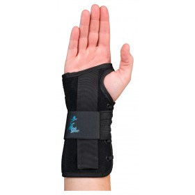 "Suede Wrist Lacer Splint 8"" Universal Size"