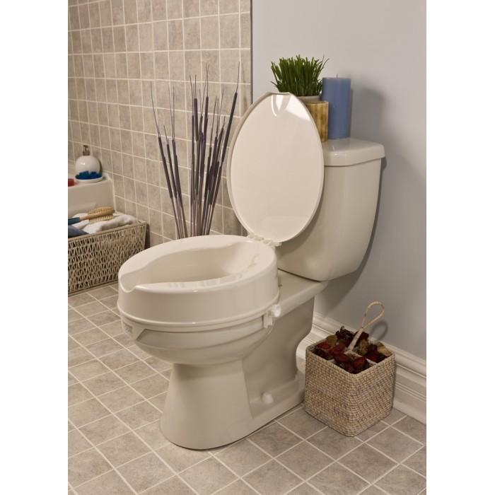 Terrific Superior Quality Raised Toilet Seat Riser 4 With Lid Look Uwap Interior Chair Design Uwaporg