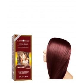coloration cheveux naturelle crme henn acajou - Coloration Henne