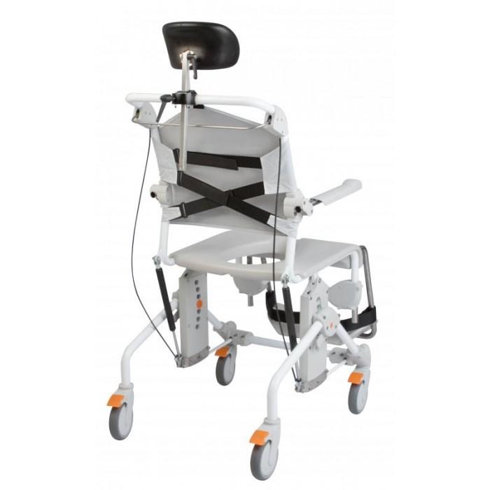 Chaise combin e douche et toilette swift mobile inclinable 160 - Chaise de douche inclinable ...
