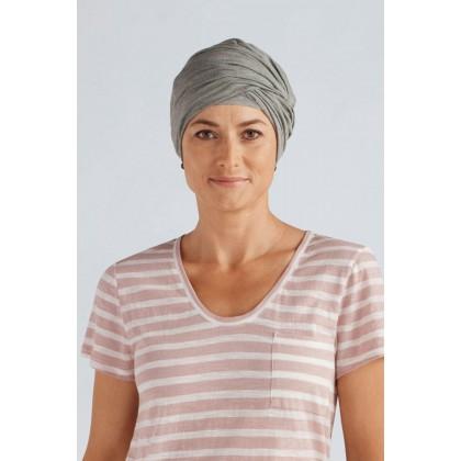 TurbaCap Bamboo Chemo Hats Grey. Click Image for Gallery 6b5c59e0720