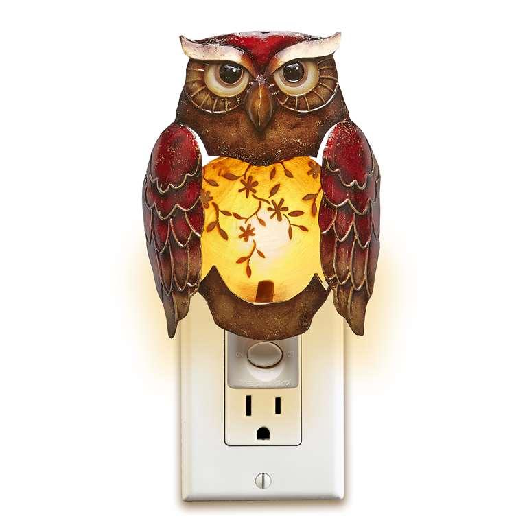 Decorative Night Light Owl